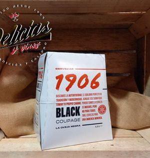 black coupage